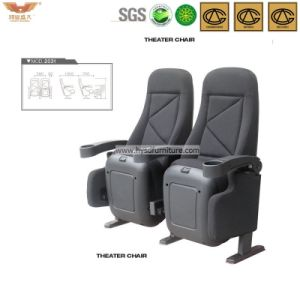 Comfortable Folding Theater Seating with Cup Holder pictures & photos