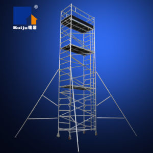 Double-Width Scaffolding with Vertical Ladder 8.0m pictures & photos