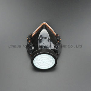 Double Filter Half Facepeice Gas Mask Dust Respirator (DR302) pictures & photos