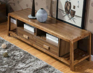 Solid Wooden Living Room Cabinet TV Stand (M-X2679) pictures & photos