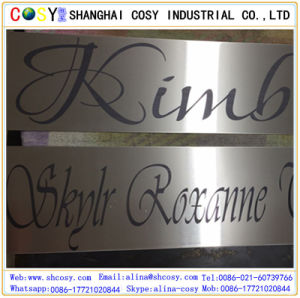 Professional ABS Double Color Engraving Sheet Manufacture in China pictures & photos