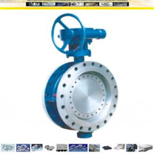 API 609 CF8/CF8m Stainless Steel Flanged Type Butterfly Valve pictures & photos