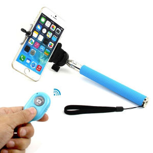 2016 Hot Selling Wireless Selfie Stick with Bluetooth, Bluetooth Selfie Stick.
