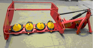 3-Point Linkage Rotary Disc Mower