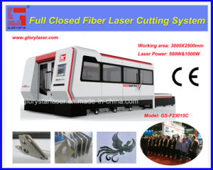 2000W Fiber Laser Cutting Machine with Protective Cover pictures & photos