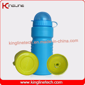 Daily Used Plastic Sport Water Bottle, Plastic Sport Bottle, 600ml Sports Water Bottle Light Weight (KL-6509) pictures & photos