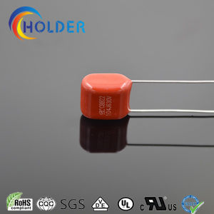 Miniature Size Metallized Polypropylene Cbb Capacitor (Cbb22 104j/630V P=7.5 L=25) pictures & photos