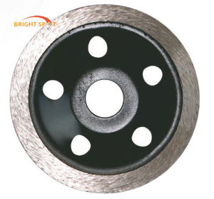 Arranged Segments Diamond Single Row Cup Grinding Wheel pictures & photos