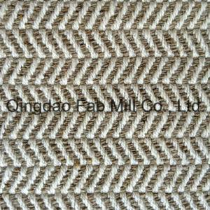 Antique Hemp Fabric in Herringbone Pattern (QF13-0058) pictures & photos