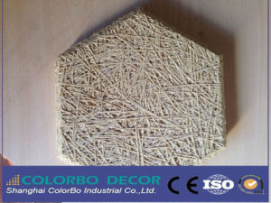 Wood Wool Insulation Board Fiber Cement Sheet pictures & photos