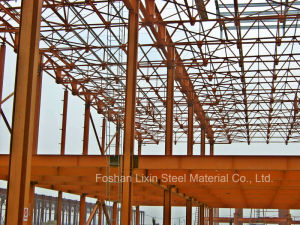 Steel Construction Project with Angle Steel Roof Truss pictures & photos