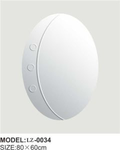 Vintage Round Wall Mirror Frameless Bathroom Mirror (LZ-0034) pictures & photos