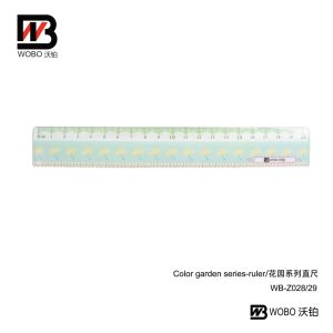 Office Stationery Cartoon Color Flat Plastic Ruler 15 20cm pictures & photos