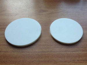 99.5% High Purity Round Aluminum Plate / Aluminum Ceramic Plate Setter Plate Disk pictures & photos