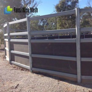 Green Colour Coated Used Horse Fence Panels pictures & photos
