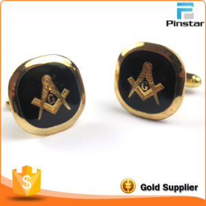 Pinstar Factory Custom Made High Quality Metal Freemason Cufflink pictures & photos