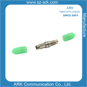 DIN/APC Fiber Optic Adapter with Zirconia Sleeve pictures & photos