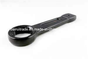 Professional Hand Tool Product Slogging Ring Wrench with Chrome Finished pictures & photos