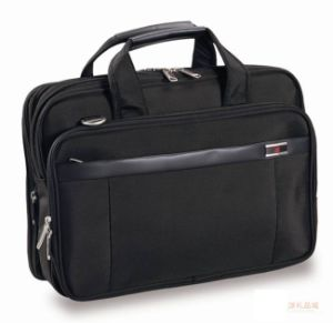 Polyester Material Laptop Men′s Briefcase pictures & photos