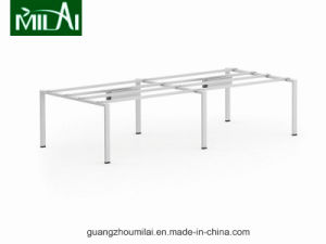 Fashion Wooden & Metal Office Furniture Meeting Table with Steel Frame pictures & photos