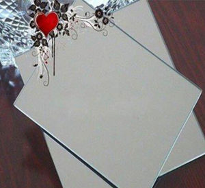 Aluminum Mirror Sheet/Vacuum Mirror Sheet for Wall/Furniture/Decorative/Make up Mirror pictures & photos