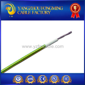 Fiberglass Braided Heat Resisting Silicone Rubber UL3122 Cable pictures & photos