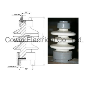 Russia C4-80 II 10kv Porcelain Line Post Insulator pictures & photos
