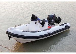 Aqualand 16feet 4.7m Rib Fishing Boat/Fiberglass Rigid Inflatable Boat (RIB470A) pictures & photos