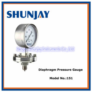 All Stainless Steel Diaphragm Pressure Gauge pictures & photos