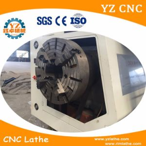 Ck245 Big Spindle Bore Pipe Threading CNC Lathe pictures & photos