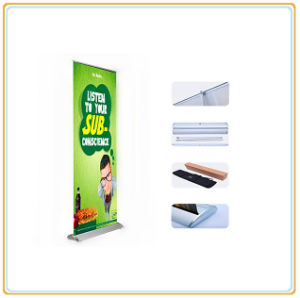 Roll up Flex Banner Stand for Single Graphic Display pictures & photos