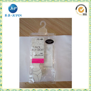 Custom Clear PVC Bag for Briefs Packing (JP-Plastic 001) pictures & photos