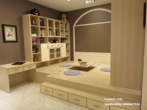 Wooden Sliding Doors for Wardrobe (ZH-5011) pictures & photos