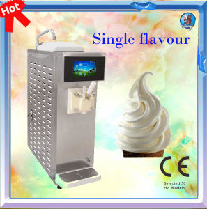 Top Table Frozen Yogurt Ice Cream Machine, HM116 pictures & photos