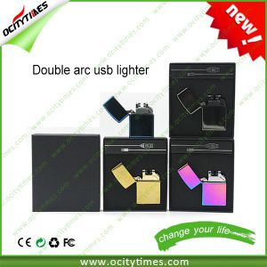 2016 Hot Sale USB Double Arc Lighter with Whosale Price pictures & photos