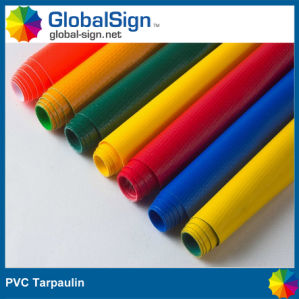Nfpa701 650 GSM Coated PVC Tarpaulin for Tent Truck Cover pictures & photos