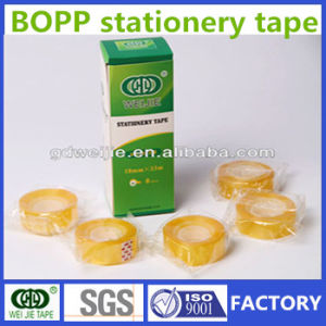 High Quality Plastic Core BOPP Adhesive Stationery Tape Manufacturer pictures & photos