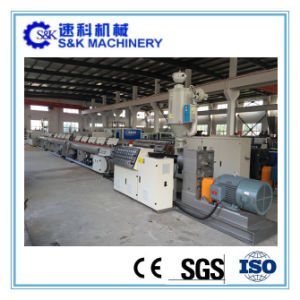 Extrusion Line for PE/PP/PPR Pipe pictures & photos