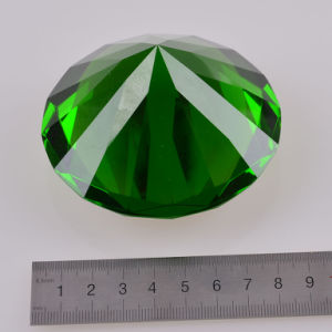 Green Crystal Glass Diamond for Wedding Favor Gift Home Decoration pictures & photos