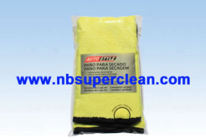 80% Polyester and 20% Polyamide Bulk Microfiber Cleaning Towel (CN3670-1) pictures & photos