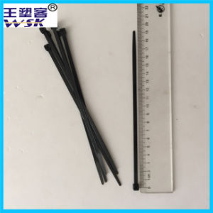 Zhejiang Cable Tie Factory Wholesale 5*200mm Black Nylon Cable Tie with Free Sample pictures & photos