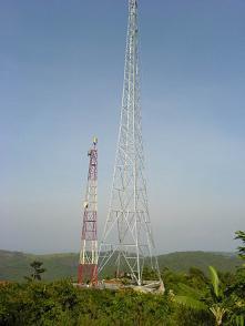 60 70 80 90 100meters Lattice Steel Tower