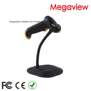 Black USB Cable Wired Auto Scan Barcode Scanner with Stand/Bracket (MG-BS2243T) pictures & photos