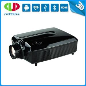 LED Projector 1280*800 Ceiling Light Projector for Business Use pictures & photos