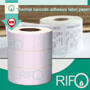 Thermal Adhesive Label Paper Bar Code Printer with MSDS RoHS pictures & photos