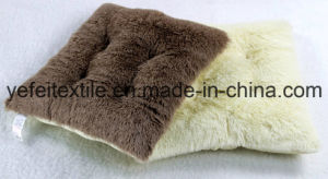 25mm Long Hair PV Fleece Polyester Filling Outdoor Seat Cushion