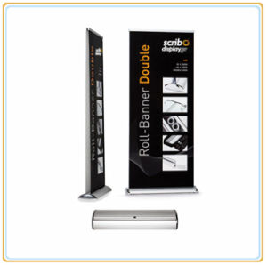 Retractable Deluxe 200*85cm Roll up Banner Stand Sign Display for Trade Show pictures & photos