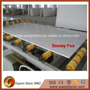 Engineered Artificial Snowy Fox White Slab pictures & photos