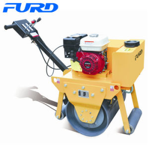 325kg Honda Gx160 Petrol Small Vibratory Hand Operated Roller (FYL-600) pictures & photos