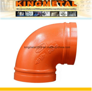 FM/UL Ductile Iron Grooved Elbow 90 Degree pictures & photos